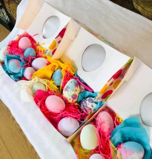 Bombe de bain-Œufs de Pâques